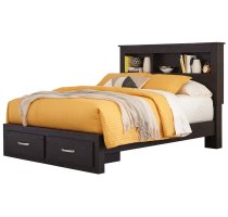 Reylow - Dark Brown 4 Piece Bed Set (Queen) Product Image