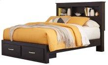Reylow - Dark Brown 4 Piece Bed Set (Queen)