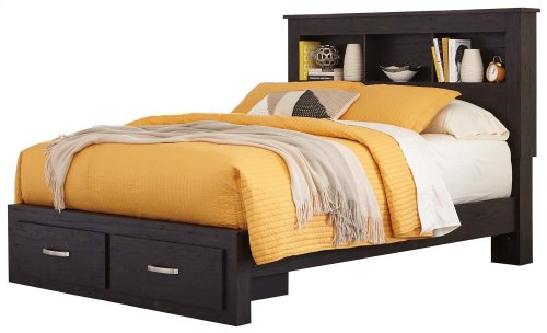 Reylow - Dark Brown 4 Piece Bed Set (Queen)