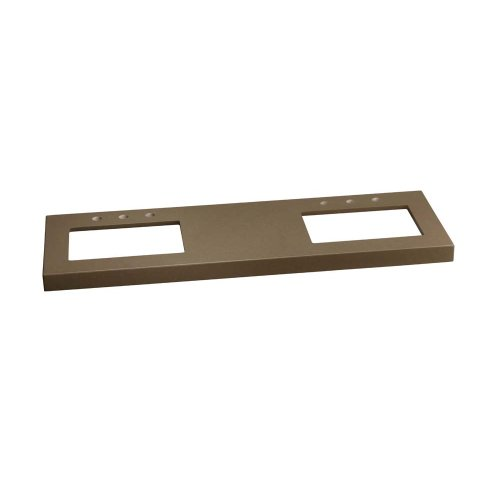 """TechStone™ WideAppeal™ 62"""" x 19"""" Vanity Top in Grand Green - 2"""" Thick"""