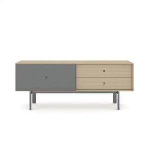 Bdi Furniture5229 Cabinet in Drift Oak Fog Grey