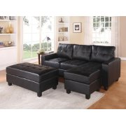 BK REV. SECTIONAL SOFA & OTTOM Product Image
