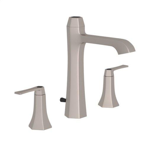 Satin Nickel Bellia High Neck Widespread Lavatory Faucet