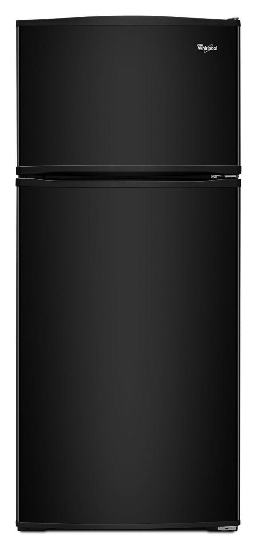 Whirlpool28-Inch Wide Top Freezer Refrigerator - 16 Cu. Ft. Black