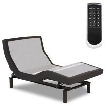 Prodigy 2.0 Adjustable Bed Base with MicroHook Retention System, Charcoal Black Finish, Twin