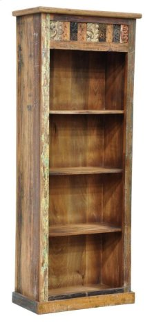 Vintage Print Block Bookshelf