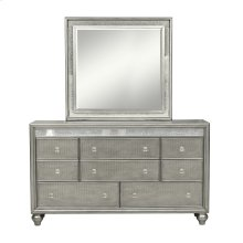 Silver Luxe Lighted Vanity Mirror