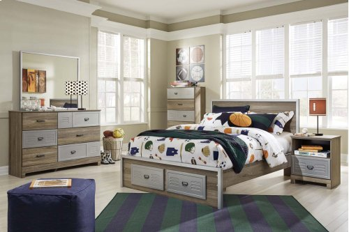 McKeeth - Gray 2 Piece Bedroom Set
