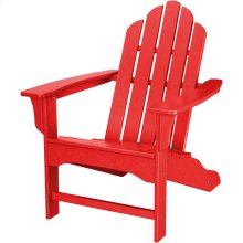 All-Weather Contoured Adirondack Chair - Sunset Red