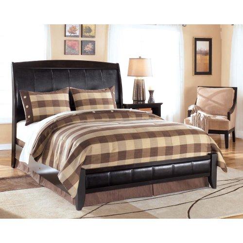Harmony - Dark Brown 2 Piece Bed Set (Queen)