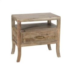 Francesca 1Dwr Nightstand Vintage Taupe Product Image