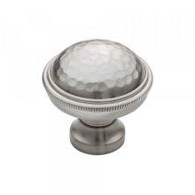 Artworth Knob 1 1/4 Inch Brushed Satin Nickel
