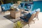 Partanna - Blue/Beige 3 Piece Patio Set Product Image