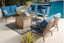 Partanna - Blue/Beige 3 Piece Patio Set