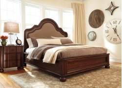 Hadelyn - Brown 3 Piece Bed Set (Cal King)