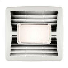 InVent Series Single-Speed Bathroom Exhaust Fan with Light 110 CFM 1.3 Sones