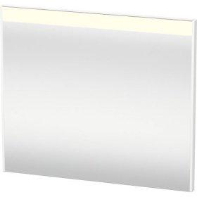 Mirror With Lighting, White Matt