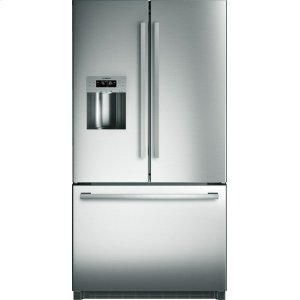 BOSCH800 Series French Door Bottom Mount Refrigerator 36'' Stainless Steel, Easy clean stainless steel B26FT50SNS