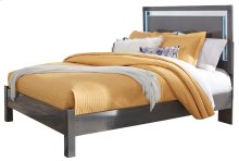 Steelson - Gray 3 Piece Bed Set (Queen)