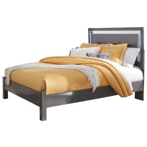 Ashley Furniture Steelson - Gray 3 Piece Bed Set (Queen)