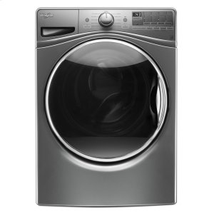 4.5 cu.ft Front Load Washer with Load & Go , 12 cycles - CHROME SHADOW