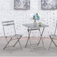 Lilah Stainless Folding Table