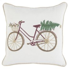 VE Jolly Bicycle Ivory 18x18