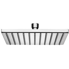 """Chrome Plate 8"""" Square easy clean shower head"""