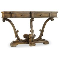 Living Room Sanctuary Thin Console-Amber Sands Product Image