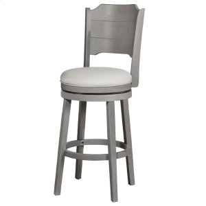 Hillsdale FurnitureClarion Swivel Bar Stool - Distressed Gray