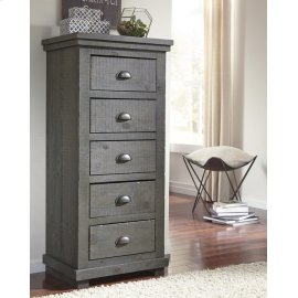 Lingerie Chest - Distressed Dark Gray Finish