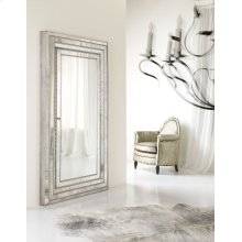 Accents Melange Glamour Floor Mirror w/Jewelry Armoire Storage