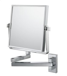 Square Double Arm Wall Mirror