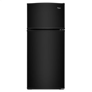 28-inch Wide Top Freezer Refrigerator - 16 cu. ft. - BLACK