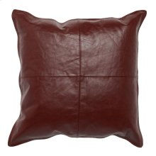 SLD Scarlett Leather Red 22x22
