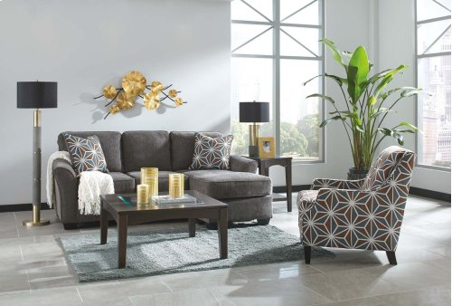 84102 Brise Slate Sofa Chaise Only