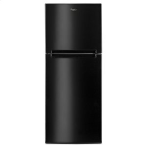 25-inch Wide Top Freezer Refrigerator - 11 cu. ft. - BLACK