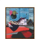 Beautifully illustrated artwork by 'enzokay' in a surrealistic fun art form with vibrant colours and patterns. Spark the conversation in any space with this striking gallery-wrapped canvas art with distressed frame. About the Collection: Product Image