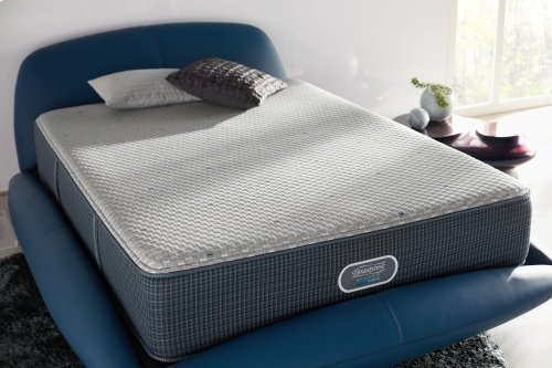 BeautyRest - Silver Hybrid - Barrier Lagoon - Tight Top - Plush - King