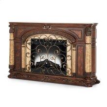 Fireplace W/insert Light Espresso
