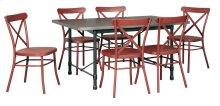 Minnona - Multi 7 Piece Dining Room Set
