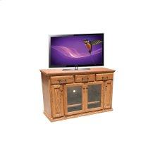 """O-T231 Traditional Oak 56"""" TV Console"""