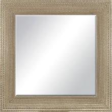 Beaded Gold Modern Mirror