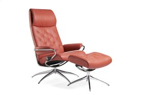 Stressless Metro High Back Star Base Chair and Ottoman