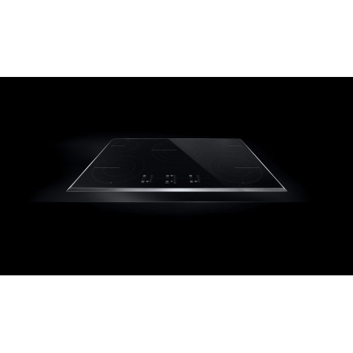 """Lustre Stainless 36"""" Electric Cooktop with Glass-Touch Electronic Controls Stainless Steel"""