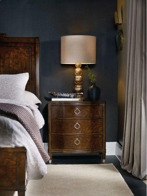 Bedroom Skyline Three-Drawer Nightstand