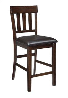 Haddigan - Dark Brown Set Of 2 Dining Room Barstools