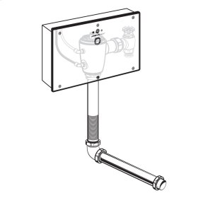 Selectronic Concealed Toilet Flush Valve with Wall Box for Wall-Hung Back Spud Bowls - No Finish