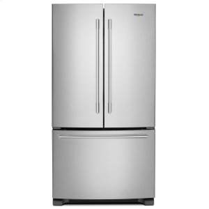 Whirlpool36-inch Wide French Door Refrigerator with Crisper Drawer - 25 cu. ft. Fingerprint Resistant Stainless Steel