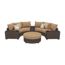 Spring Ridge - Beige/Brown 6 Piece Patio Set